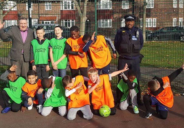 Bellingham Green football project with Sports Fun 4 All