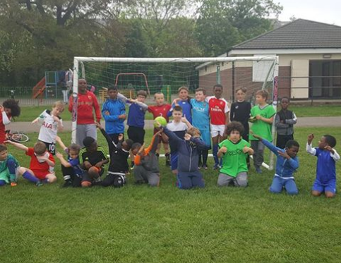 Saturday morning football at Forster Memorial Park